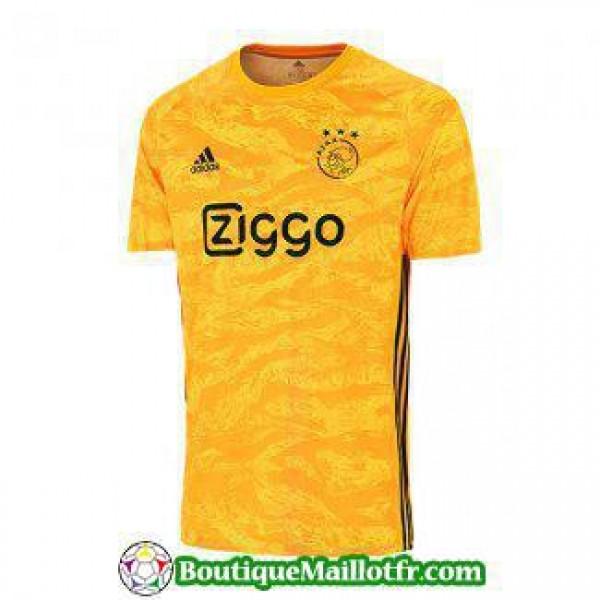 Maillot Ajax Gardien 2019 2020 Jaune