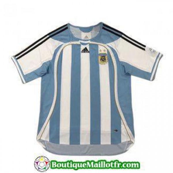 Maillot Argentine Retro 2006 Domicile