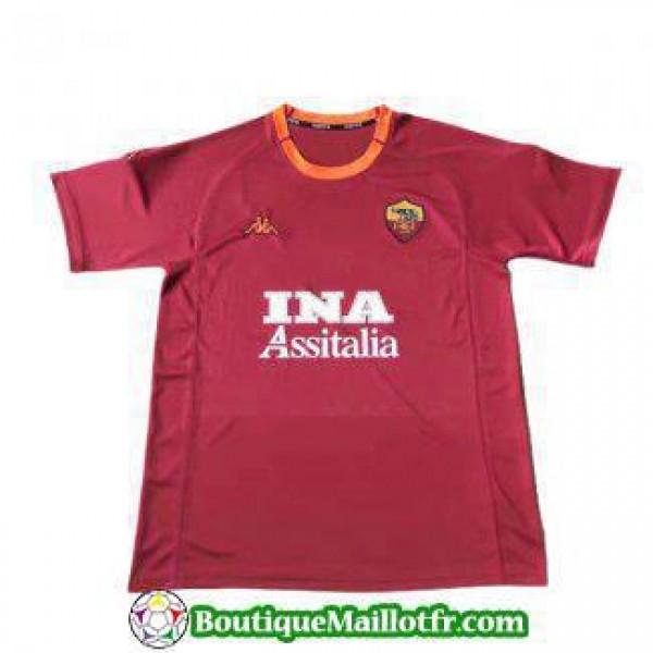 Maillot As Roma Retro 2000 2001 Domicile