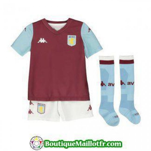 Maillot Aston Villa Enfant 2019 2020 Domicile