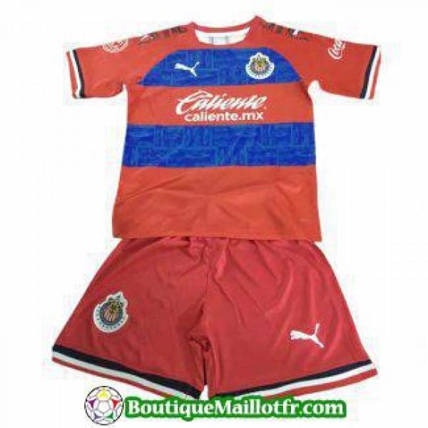Maillot Chivas De Guadalajara Enfant 2019 2020 Ext...