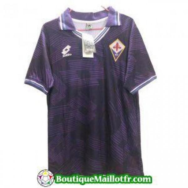 Maillot Fiorentina Retro 1992 1993 Domicile