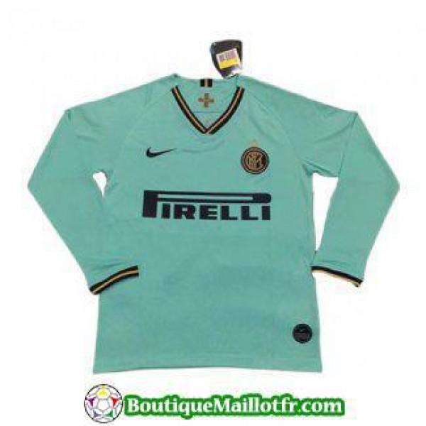 Maillot Inter Milan Manche Longue 2019 2020 Exteri...