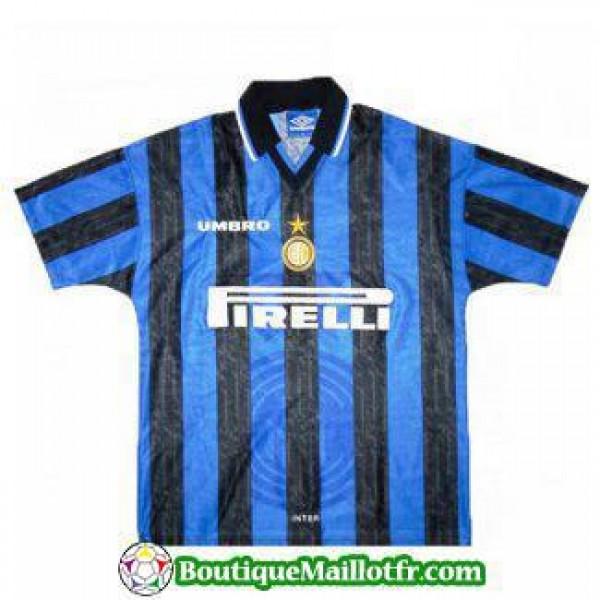Maillot Inter Milan Retro 1997 1998 Domicile
