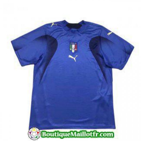 Maillot Italie Retro 2006 Domicile