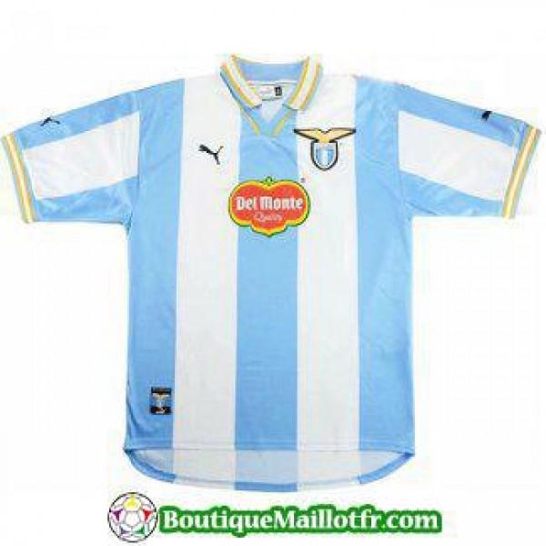 Maillot Lazio Retro 1999 2000 Domicile