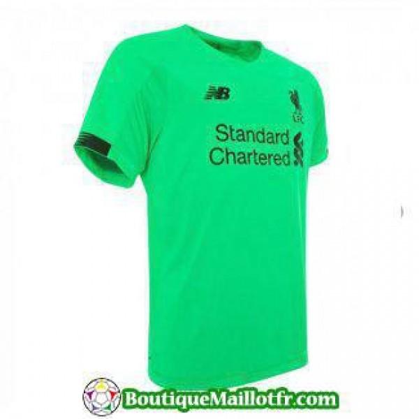 Maillot Liverpool Gardien 2019 2020 Vert