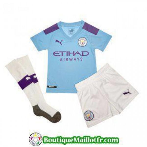 Maillot Manchester City Enfant 2019 2020 Domicile