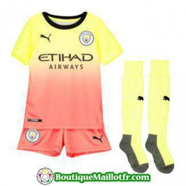 Maillot Manchester City Enfant 2019 2020 Neutre