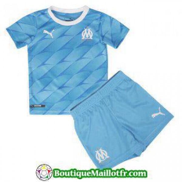 Maillot Marseille Enfant 2019 2020 Exterieur