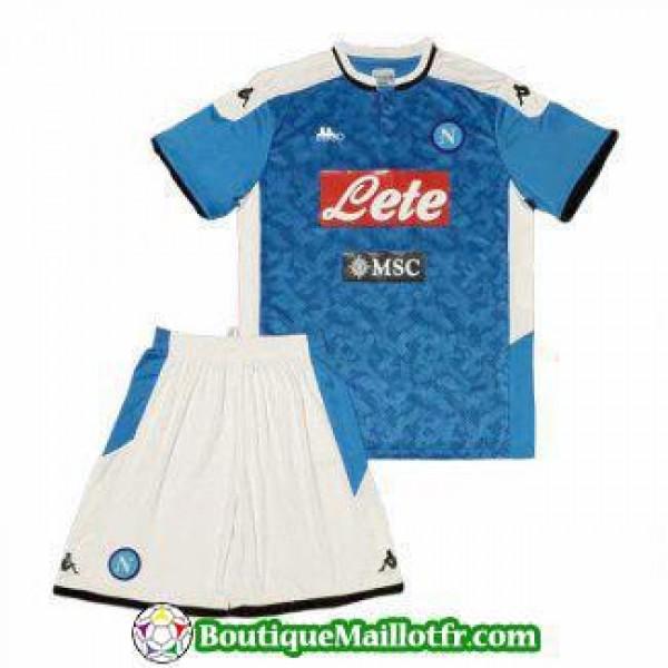 Maillot Naples Enfant 2019 2020 Domicile