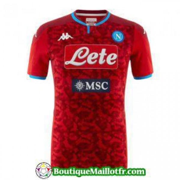 Maillot Naples Gardien 2019 2020 Rouge