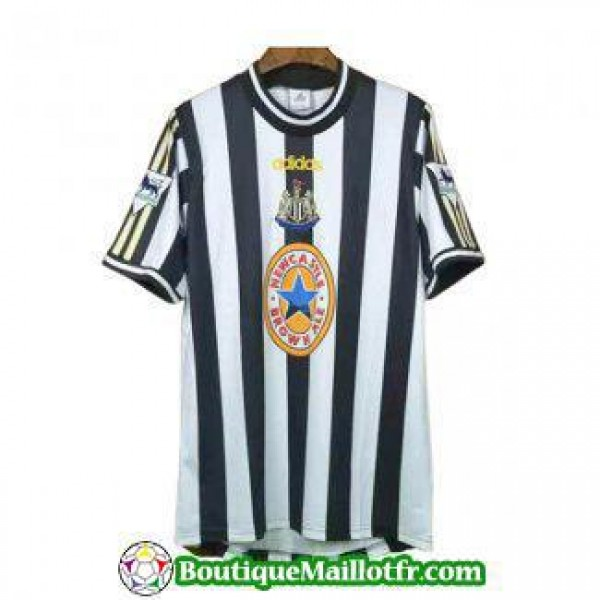 Maillot Newcastle United Retro 1997 1999 Domicile