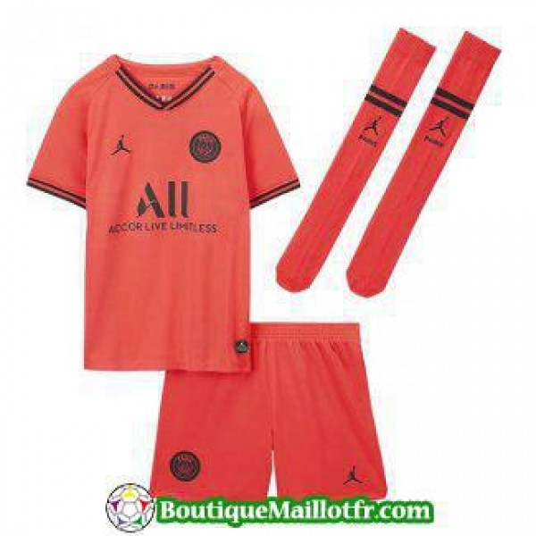 Maillot Paris Saint Germain Enfant 2019 2020 Exter...