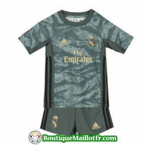 Maillot Real Madrid Gardien Enfant 2019 2020 Gris ...
