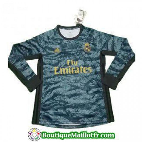 Maillot Real Madrid Gardien Manche Longue 2019 202...