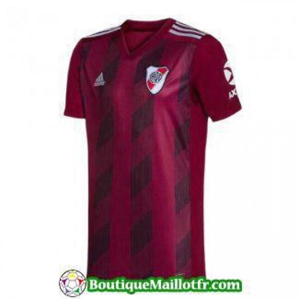 Maillot River Plate 2019 2020 Exterieur Rouge Fonc...