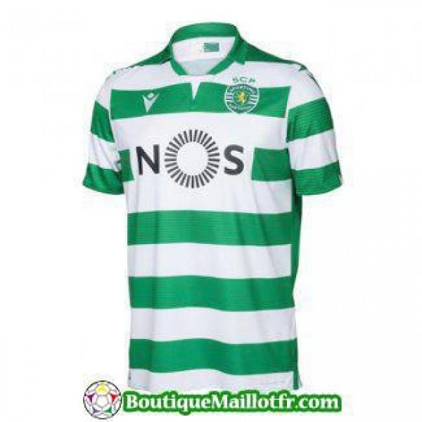 Maillot Sporting Lisbonne 2019 2020 Domicile