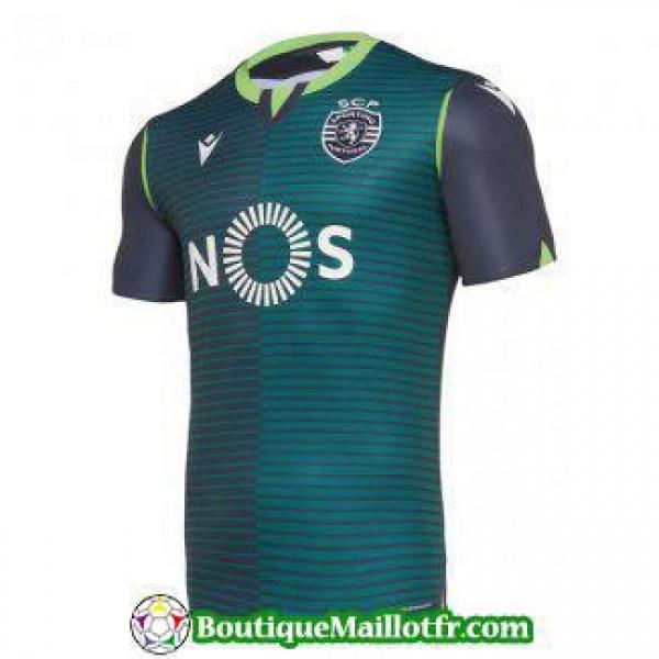 Maillot Sporting Lisbonne 2019 2020 Exterieur