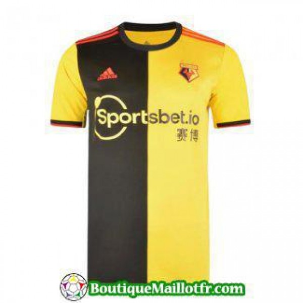 Maillot Watford 2019 2020 Domicile