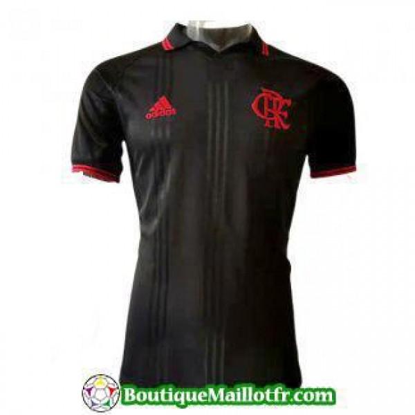 Polo Flamengo 2019 2020 Noir Rouge