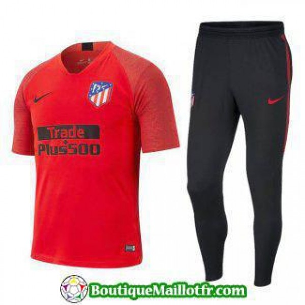 Polo Kit Atletico Madrid Entrainement 2019 2020 Ro...