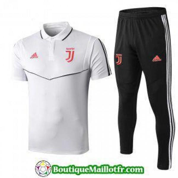 Polo Kit Juventus Entrainement 2019 2020 Blanc