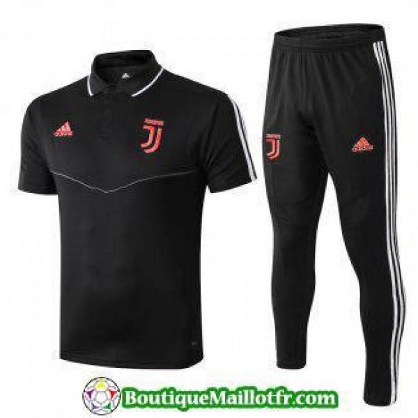 Polo Kit Juventus Entrainement 2019 2020 Noir