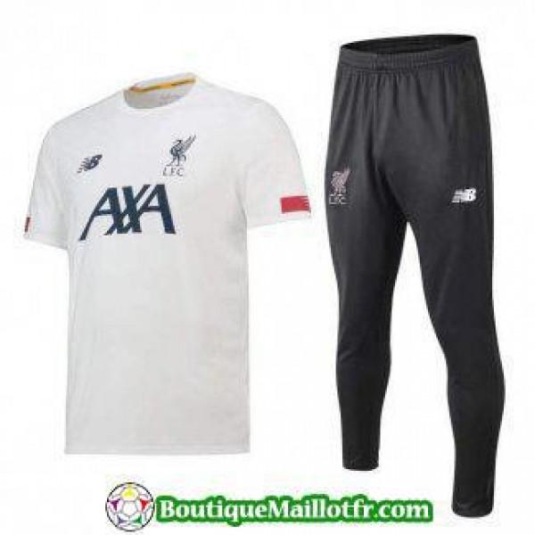 Polo Kit Liverpool Entrainement 2019 2020 Blanc