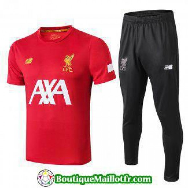 Polo Kit Liverpool Entrainement 2019 2020 Rouge