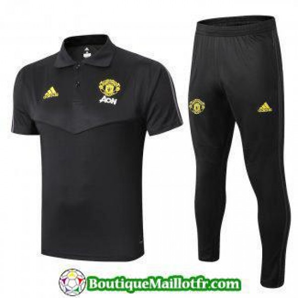 Polo Kit Manchester United Entrainement 2019 2020 ...