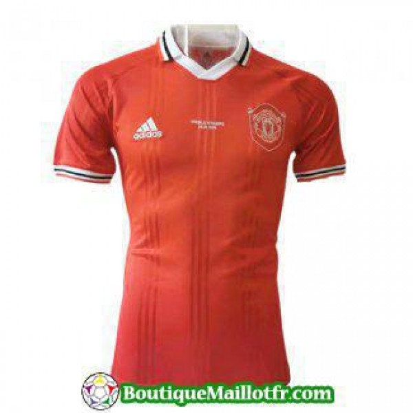 Polo Manchester United 2019 2020 Rouge Blanc