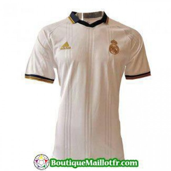 Polo Real Madrid 2019 2020 Bleu Fonce Or Blanc