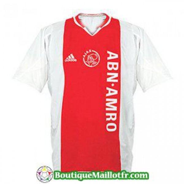 Maillot Ajax Retro 2004 2005 Domicile