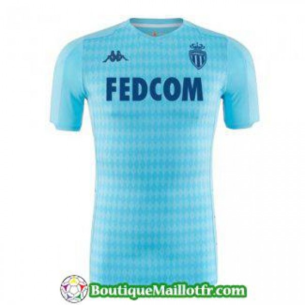 Maillot As Monaco 2019 2020 Neutre