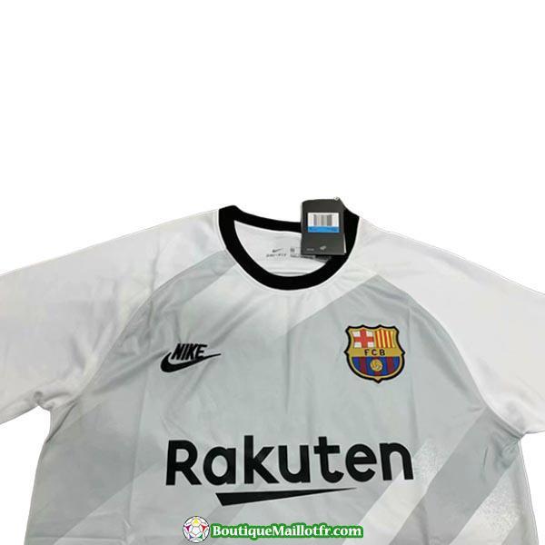 Maillot Barcelone Gardien 2019 2020 Blanc