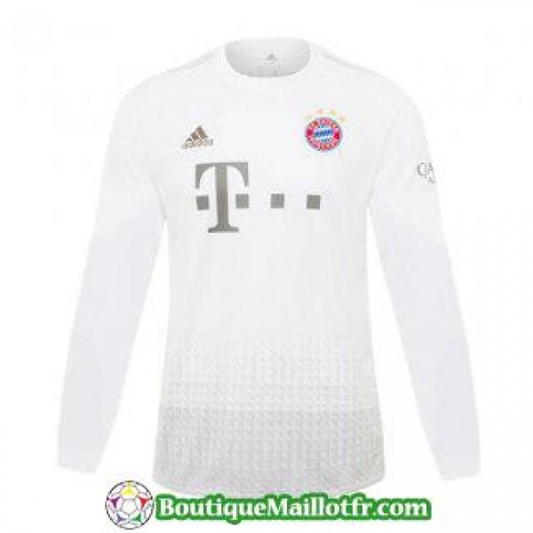 Maillot Bayern Munich Manche Longue 2019 2020 Exte...