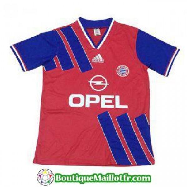 Maillot Bayern Munich Retro 1993 Domicile