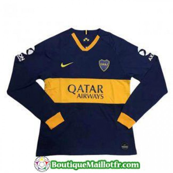 Maillot Boca Juniors Manche Longue 2019 2020 Domic...