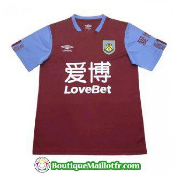 Maillot Burnley 2019 2020 Domicile