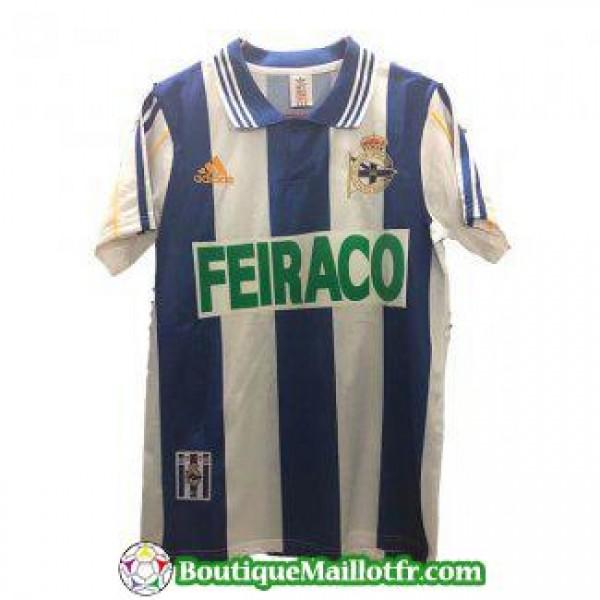 Maillot Deportivo Alaves Retro 1999 2000 Domicile