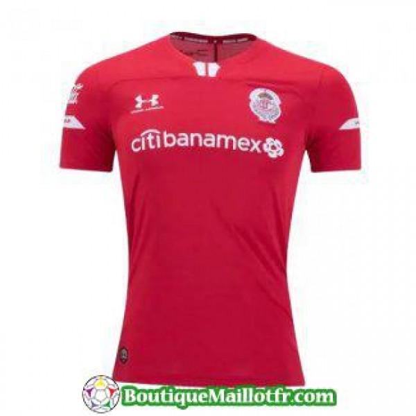 Maillot Deportivo Toluca 2019 2020 Domicile