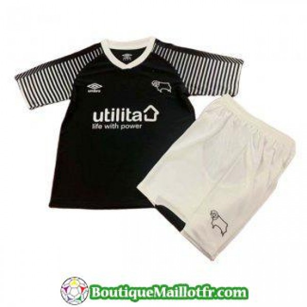 Maillot Derby County Enfant 2019 2020 Neutre