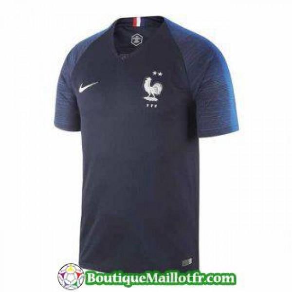 Maillot France Deux Etoiles Champion Domicile