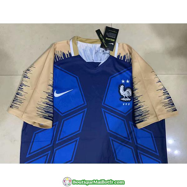 Maillot France Edition Limitee 2019 2020 Bleu Brown