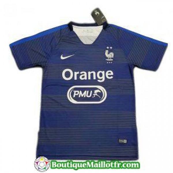 Maillot France Entrainement 2019 2020 Bleu Fonce