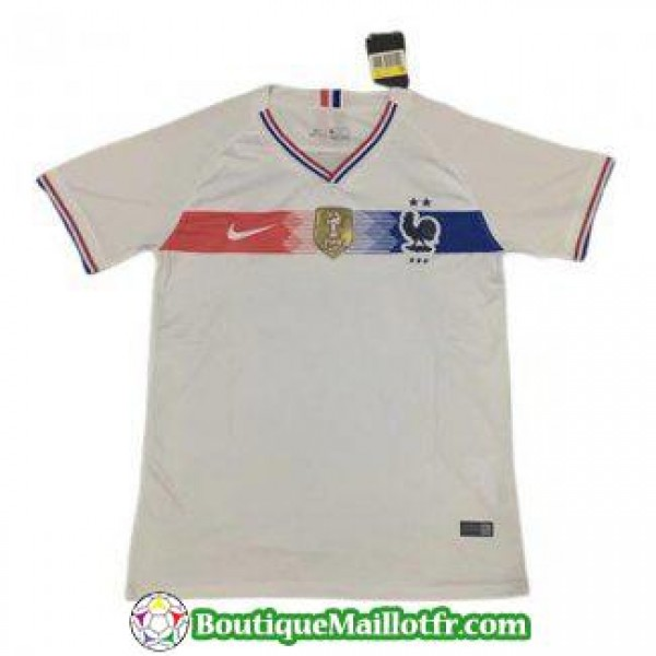 Maillot France Retro 1920 Exterieur