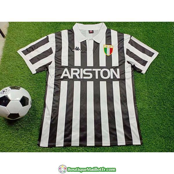 Maillot Juventus Retro 1984 1985 Domicile