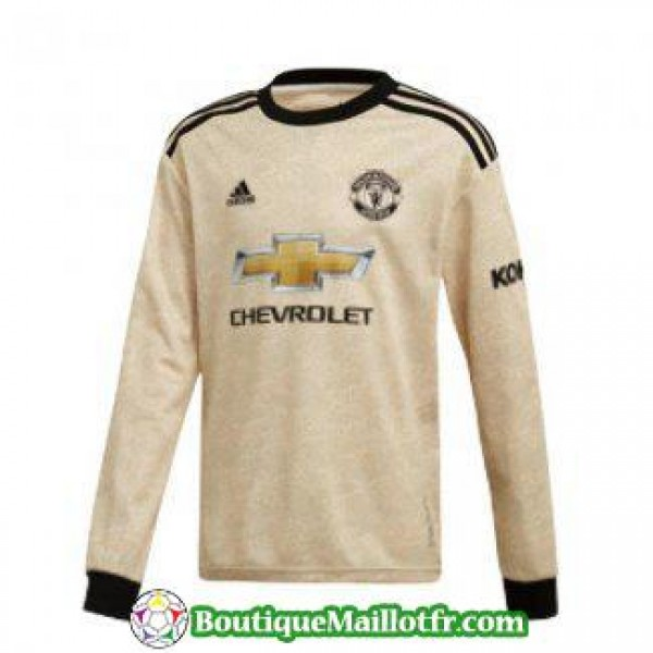 Maillot Manchester United Manche Longue 2019 2020 ...