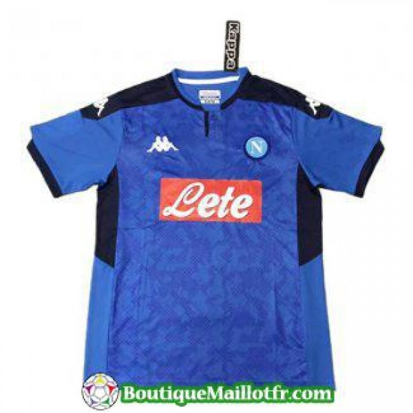 Maillot Naples Champions League 2019 2020